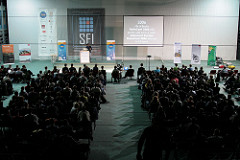 audience at SFI