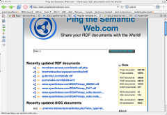 ping the semantic web
