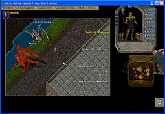 ultima online with rabbit-people